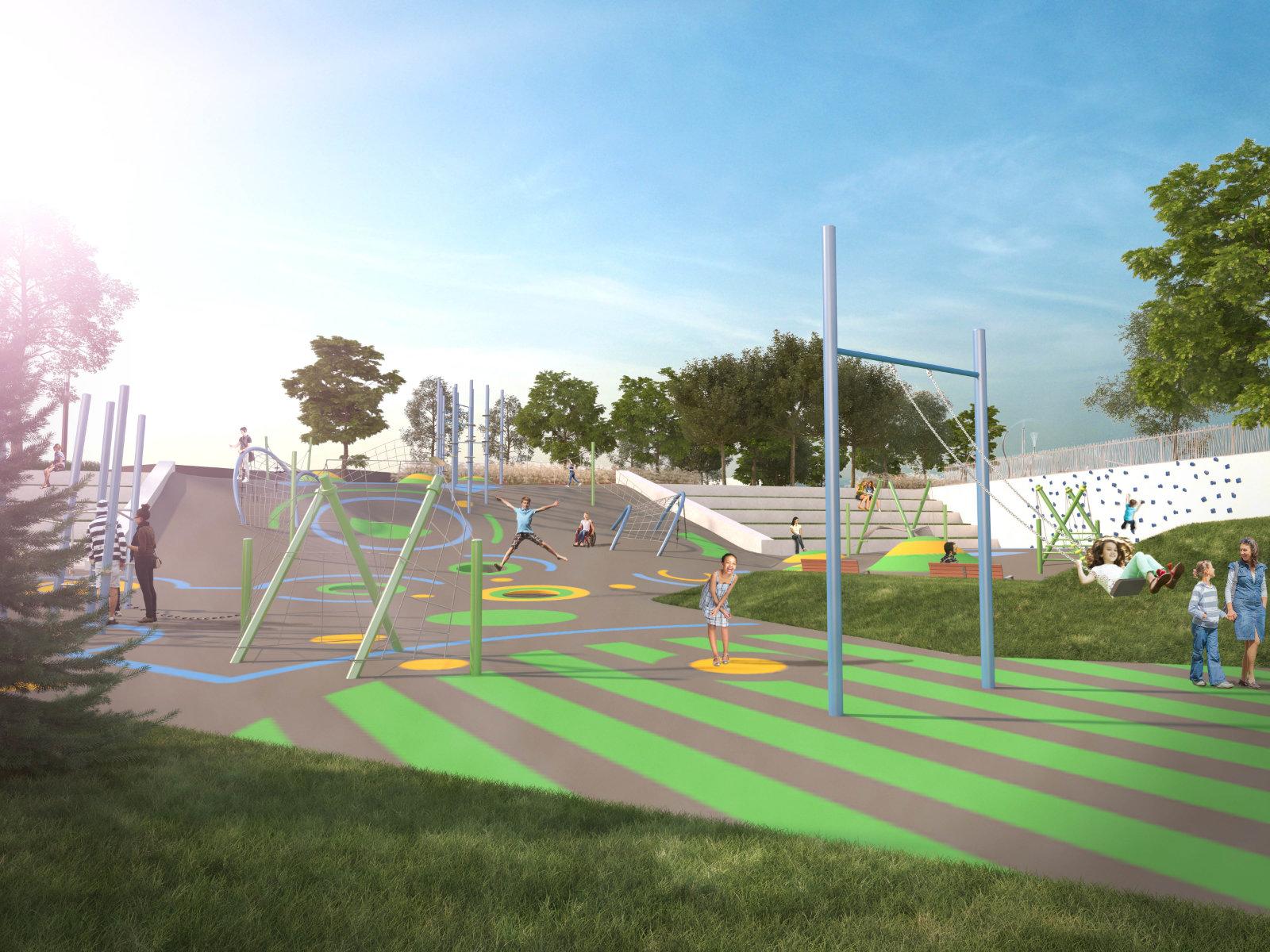 Parc multisports, Ville St-Jérôme